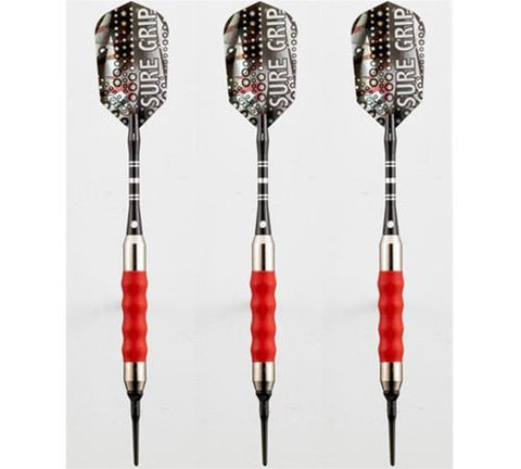 Viper Sure Grip Red Soft Tip Darts 16 Gram - Peazz.com