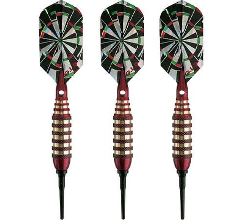 Viper Atomic Bee Red Soft Tip Darts 16 Gram - Peazz.com