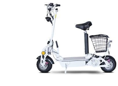 EWheels CRUISER-WHT EWheels Cruiser 800 Watt Electric Scooter - White