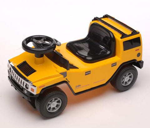 H2 Hummer Foot To Floor Ride-On Car - Peazz.com