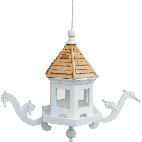 Classic Series Wingdale Hanging Feeder by Home Bazaar (HB-2015ZS) - Peazz.com