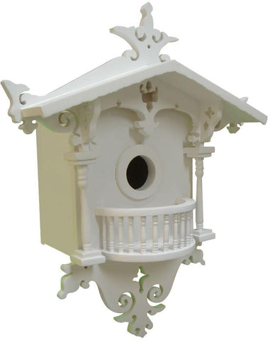 Signature Series Cuckoo Cottage Birdhouse For Bluebirds by Home Bazaar (HB-2018N) - Peazz.com
