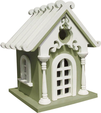 Signature Series Fairy Cottage (Green) by Home Bazaar (HB-2019G) - Peazz.com