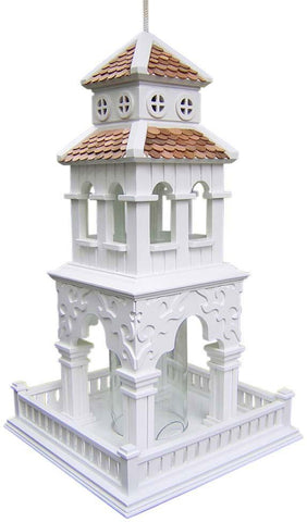 Signature Series Pagoda Hanging Feeder by Home Bazaar (HB-2030) - Peazz.com