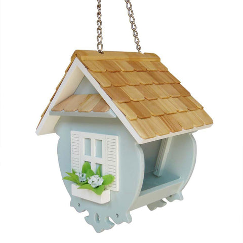 Fledgling Series Little Wren Feeder (Light Blue) by Home Bazaar (HB-2082BS) - Peazz.com