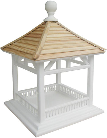 Classic Series Dream House Feeder - Pine Shingle Roof by Home Bazaar (HB-2085) - Peazz.com