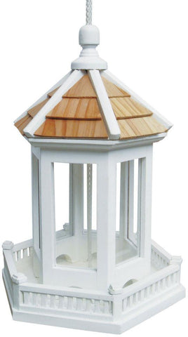 Fledgling Series Gazebo Birdfeeder (Single Unit) by Home Bazaar (HB-9006WS) - Peazz.com