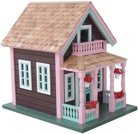 "Signature Series Petoskey ""Lake View"" Cottage Birdhouse by Home Bazaar (HB-9031) - Peazz.com"