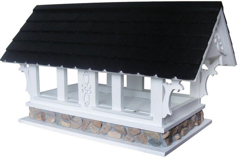 Signature Series Covered Bridge Birdfeeder  by Home Bazaar (HB-9047S) - Peazz.com