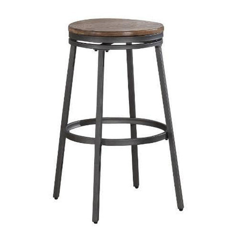 American Woodcrafters B1-100-25W Stockton Backless Counter Stool - BarstoolDirect.com