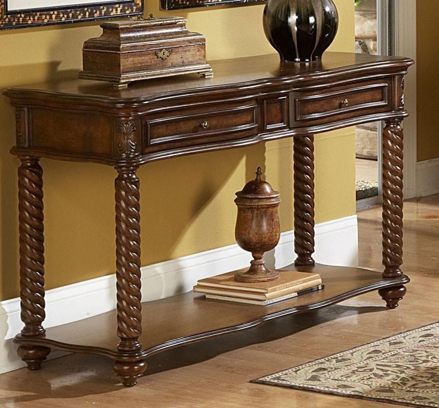Sofa Table Drawer Homelegance Trammel 3181 Product Photo