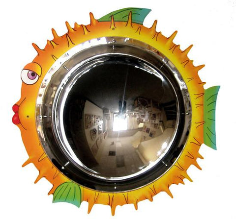 Anatex BLM2808 Blowfish Mirror Wall Panel - Peazz.com