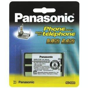 Panasonic HHR-P104A/1B Battery for KX-TG2300 Series HHR-P104A-1B - Peazz.com