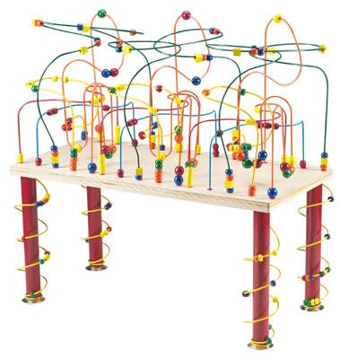 Anatex JRC9001 Jungle Rollercoaster Table - Peazz.com