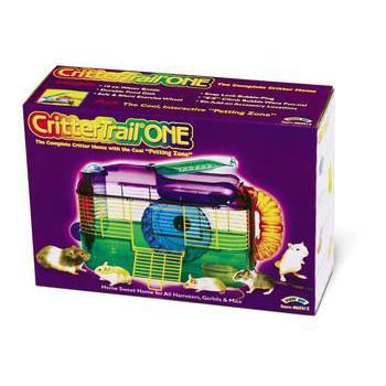 "Crittertrail ""one"" Home 16 X 10 X 10""h (multi - color) (100079210) - Peazz.com"