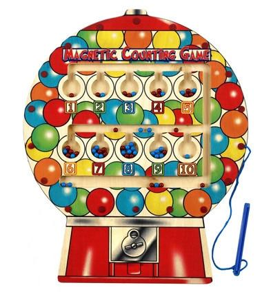 Anatex MGB6008 Magnetic Gumball Counting Game - Peazz.com
