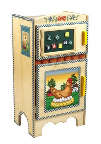 Anatex RI6011 Country Living Refrigerator - Peazz.com