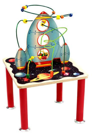 Anatex SSR7709 Space Shuttle Rollercoaster Table - Peazz.com