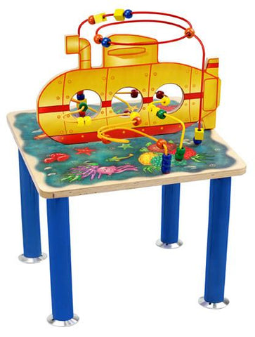 Anatex SUR7710 Submarine Rollercoaster Table - Peazz.com