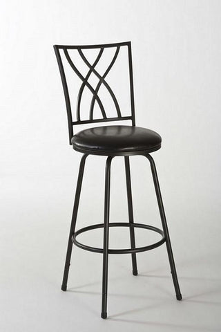 Hillsdale 5252-830 Corday Swivel Counter/Bar Stool w/Nested Leg - Peazz.com