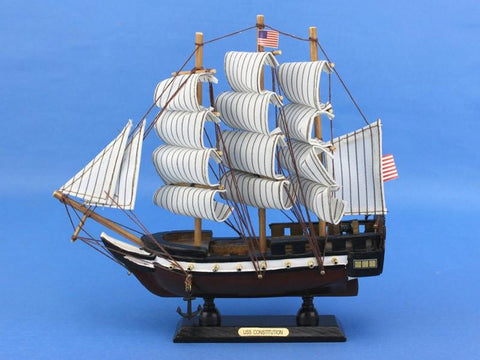 "Handcrafted Model Ships constitution10 Constitution 10"" - Peazz.com"