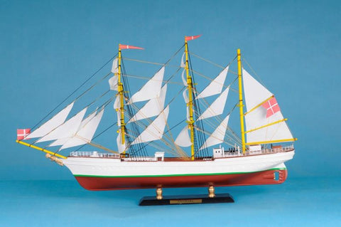 "Handcrafted Model Ships Danmark-LIM-21 Danmark Limited 21"" - Peazz.com"