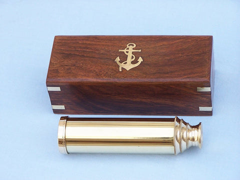 "Captain's Brass Spyglass 15"" - Peazz.com"