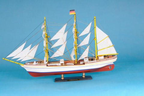"Handcrafted Model Ships Gorch-Fock-LIM-21 Gorch Fock Limited 21"" - Peazz.com"