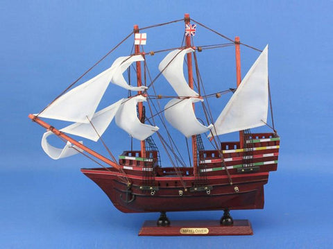 "Handcrafted Model Ships mayflower14-limited Mayflower Limited 14"" - Peazz.com"