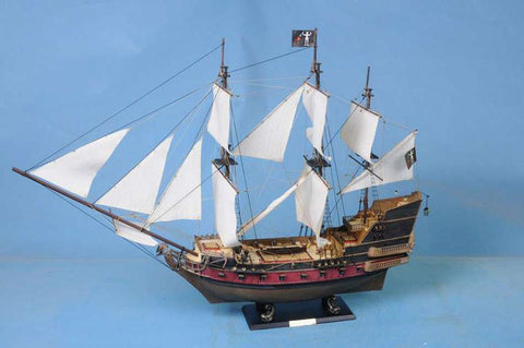 "Blackbeard's Queen Anne's Revenge 36"" - White Sails - Peazz.com"