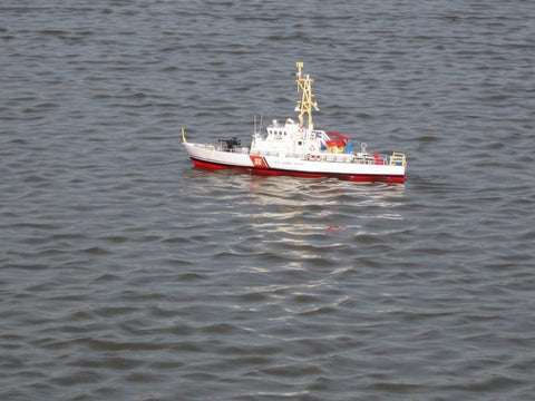"Handcrafted Model Ships RC-USCG-Patrol-28 Ready To Run Remote Control USCG Patrol Boat 28"" - Peazz.com"