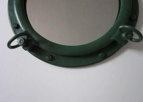 "Sea-worn Porthole Mirror 20"" - Peazz.com"