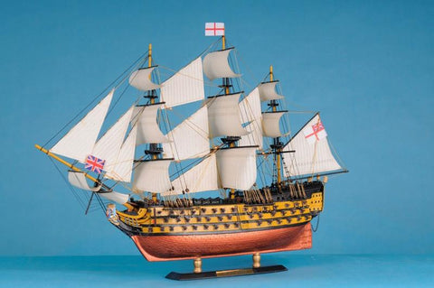 "Handcrafted Model Ships Victory-LIM-21 HMS Victory Limited 21"" - Peazz.com"