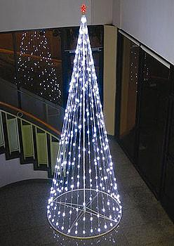 HomeBrite 10 ft. White Light Strand Christmas Tree - Peazz.com