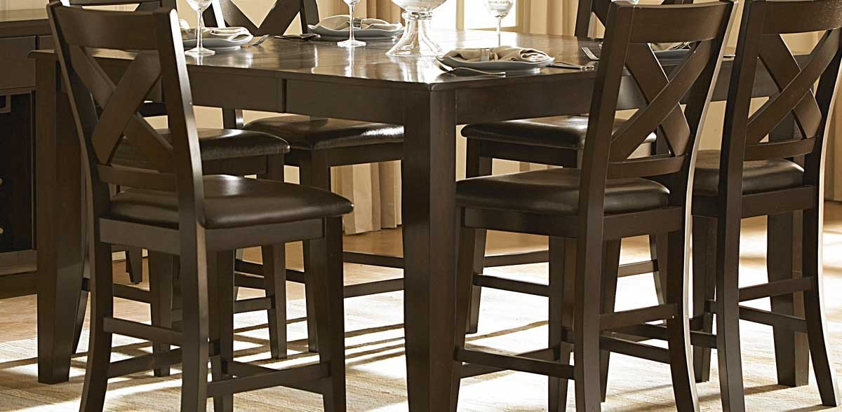Crown Point Counter Height Table Only 4331 Product Photo