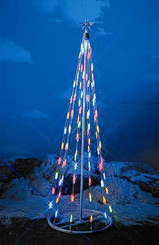 HomeBrite 4ft Multi-Color Light Strand Christmas Tree - Peazz.com