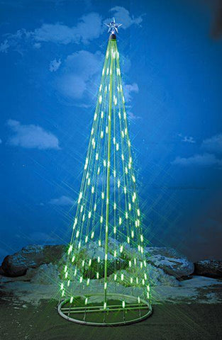 HomeBrite 6 ft. Green Light Strand Christmas Tree - Peazz.com