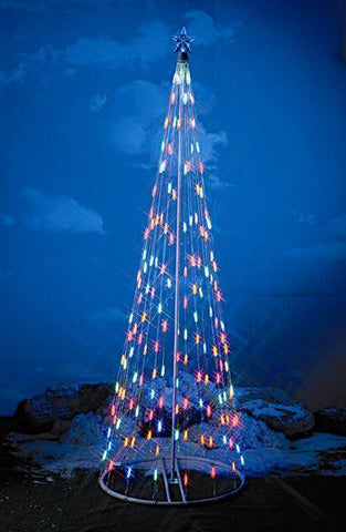 HomeBrite 6 ft. Multi-Color Light Strand Christmas Tree - Peazz.com