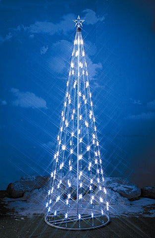 HomeBrite 6 ft. White Light Strand Christmas Tree - Peazz.com