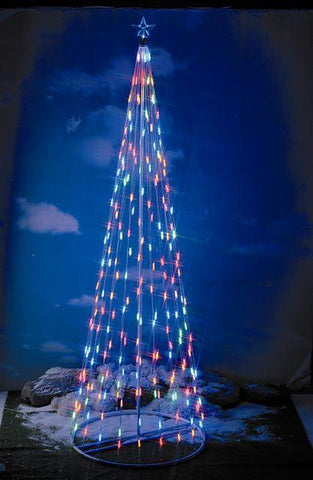 HomeBrite 8 ft. Multi-Color Light Strand Christmas Tree - Peazz.com