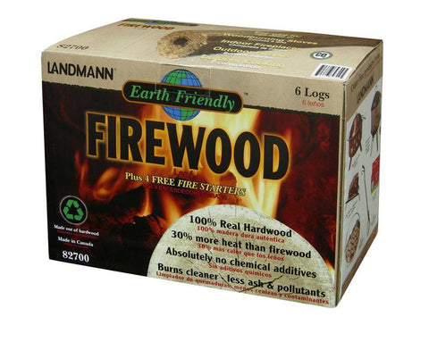 Landmann 82700 Earth Friendly™ Firewood (6 Logs/Box) - Peazz.com