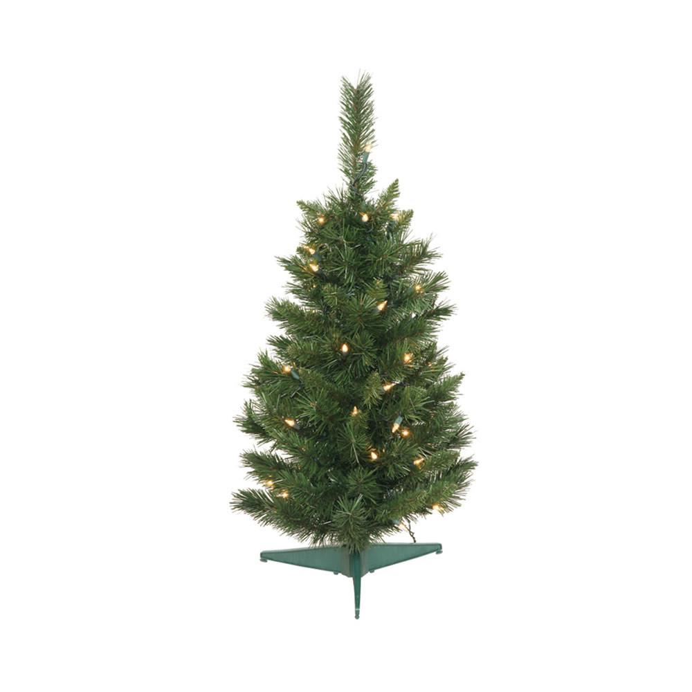 25 Vickerman A877126 Imperial Pine Green Christmas Tree