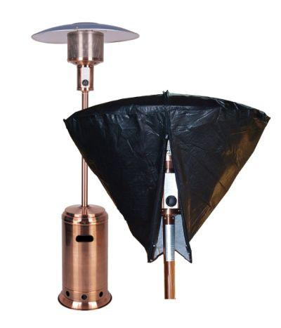 Well Traveled Living 2054 Outdoor Patio Heater Head Vinyl Cover - Peazz.com