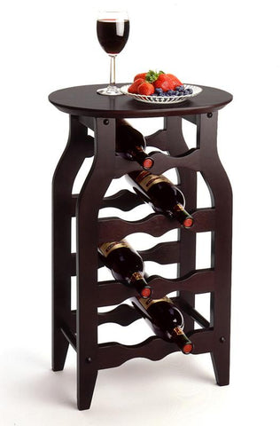 Winsome Wood 92825 Wine Rack 8-Bottle - Peazz.com