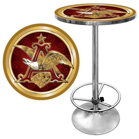 Trademark Commerce AB2000-AE Budweiser A & Eagle Pub Table - Peazz.com