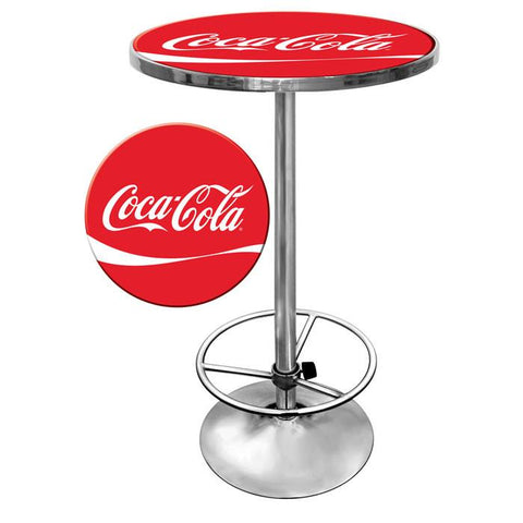 Trademark Commerce coke-2000-DR Coca Cola Pub Table - Peazz.com