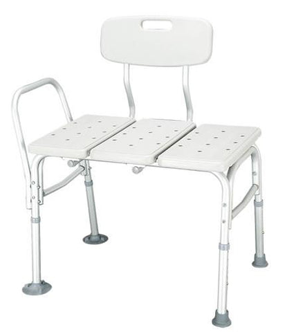 Harvy Knock Down Transfer Bench with Back - Peazz.com