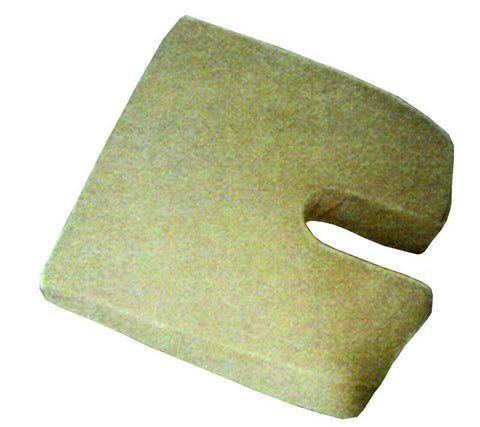 Rose Healthcare R4101C Sloping Travel Coccyx Cushion, Camel - Peazz.com