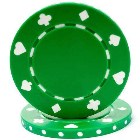 Trademark Poker 10-1080 11.5 Gram Suited Design Chip - Peazz.com