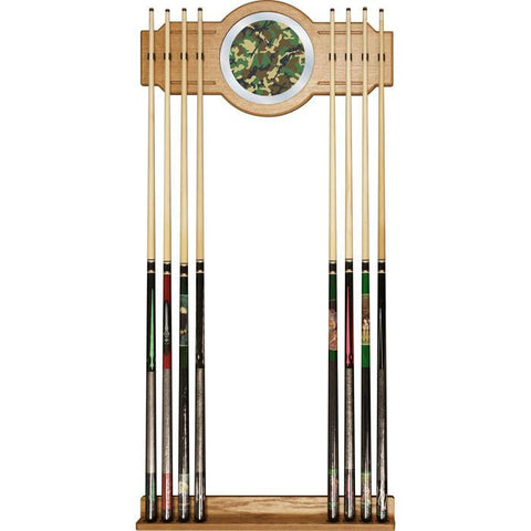 Adg Source Hunt6000-Camo Hunt Camo Billiard Cue Rack With Mirror - Peazz.com